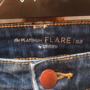 Chico's Jeans - Chico's Platinum Flare 2.5